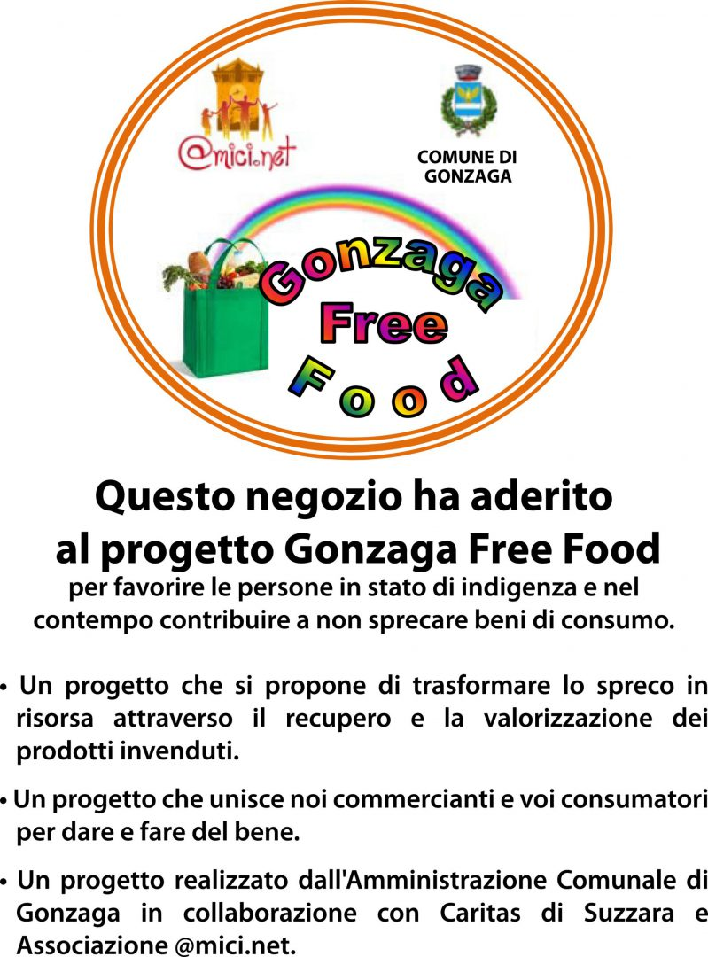 Progetto Gonzaga Free Food