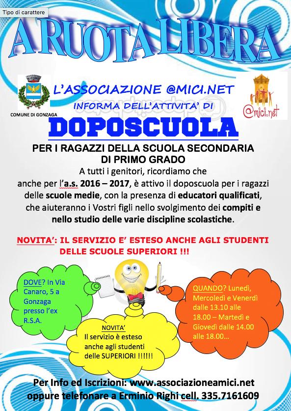 Doposcuola 2016-2017