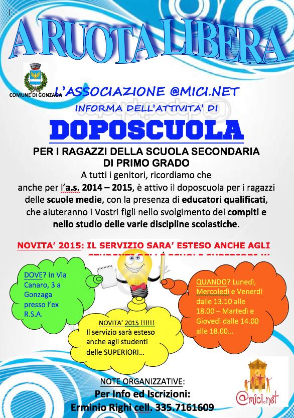 Doposcuola 2014-2015