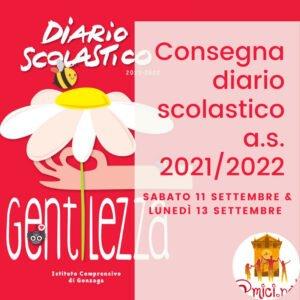 Read more about the article Consegna diario scolastico